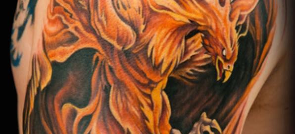 Tatuajes De Aves Fenix