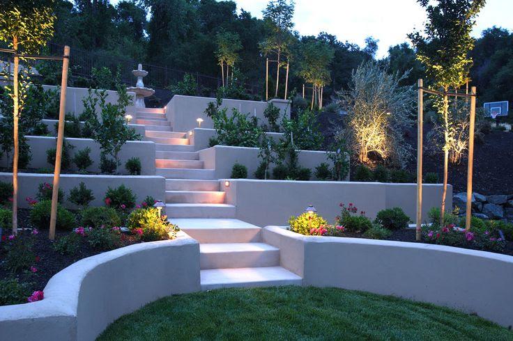 Steep Back Yard Landscaping Ideas