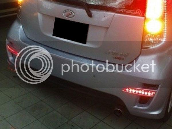Buy PERODUA MYVI SE2 2008 - 2010 Rear Bumper Reflector