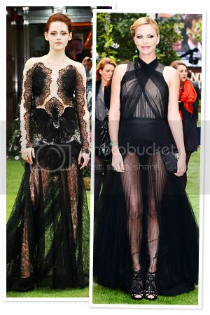 Snow White and the Hunstmen London Premiere Fashion Style Kristen Stewart Charlize Theron
