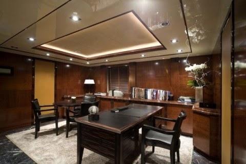 El in genio de las l mparas como iluminar el despacho for Imagenes de oficinas de lujo