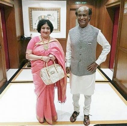 Rajinikanth and Latha Rajinikanth celebrate their 36th