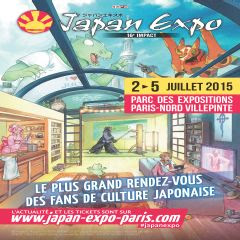 japan expo 2015 affiche logo carré
