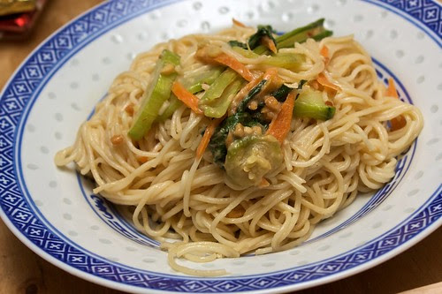 zuchinni and peanut noodles (from PPK)