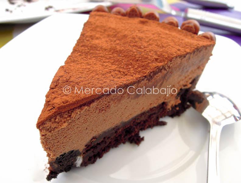 TARTA BROWNIE DE OREO CON MOUSSE DE CHOCOLATE-38
