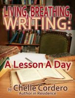 Cover for 'Living, Breathing, Writing: A Lesson A Day'