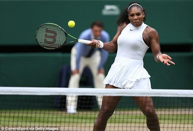 Um lutador real: No Rio este ano, Serena estará olhando para defender seu ouro de Londres 2012 em caso de singles, bem como seu ouro com a irmã Venus nas duplas