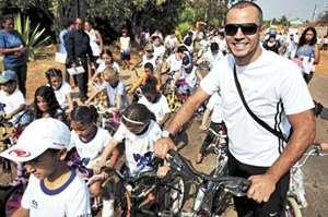 Projeto O Que Eu Quero Aprender, do professor Adayl dos Santos, motiva estudantes e apoiadores: 36 bicicletas doadas