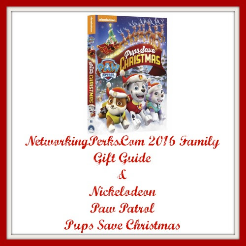 Enter the Paw Patrol:  Pups Save Christmas Giveaway. Ends 11/26