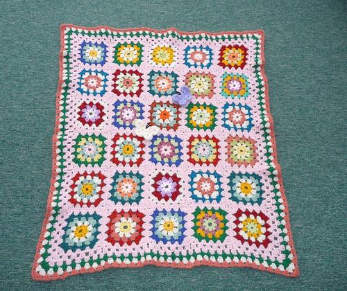 Isn't this blanket so pretty!