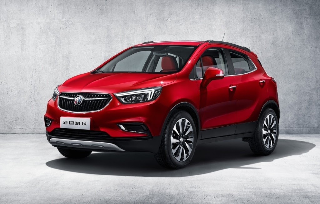 2017 Buick Encore Launches In China | GM Authority