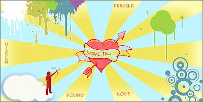 Broken Heart cards - 1
