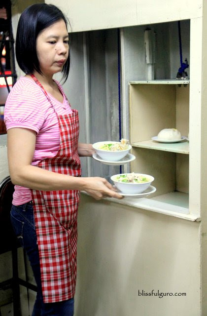 Luisa Cafe Baguio City Dumbwaiter