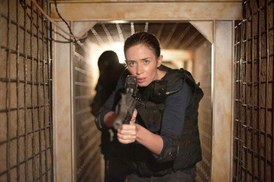 Emily Blunt, en 'Sicario'.