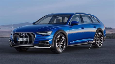audi  allroad rendered  properly rugged