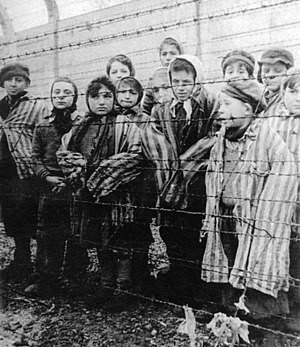 Child survivors, January, 1945