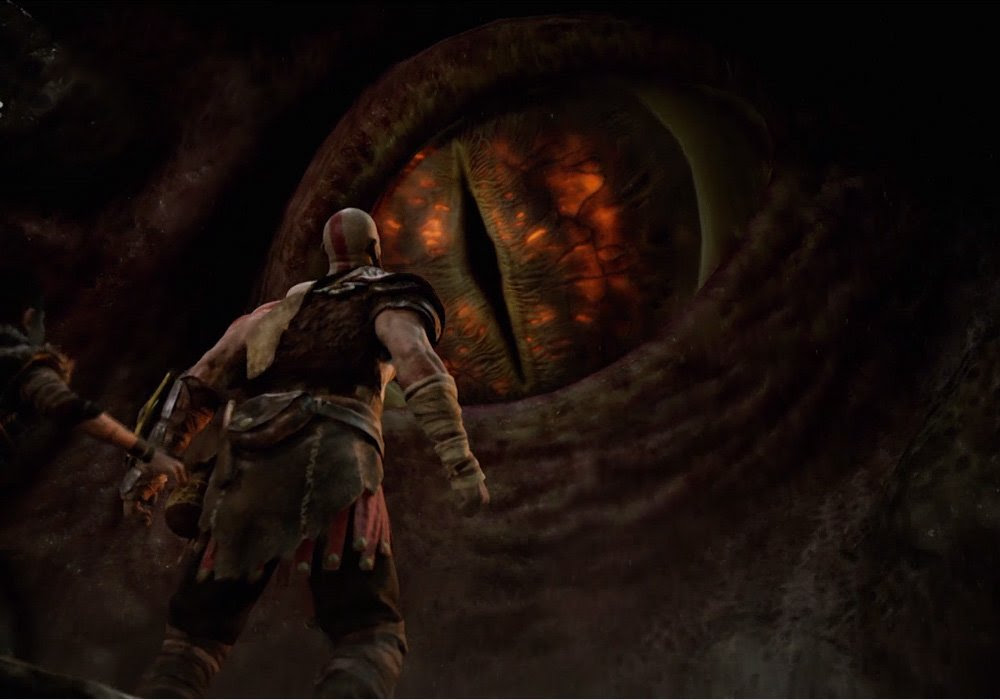 Be a godly daddy when God of War releases early next year screenshot