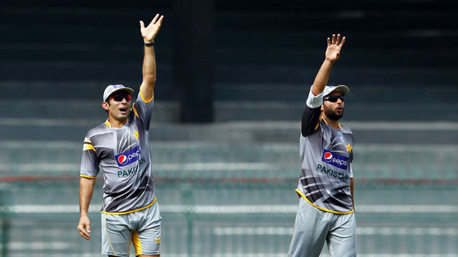 Shahid Afridi, Misbah Ul Haq, Pakistan, Cricket, team, Captain,