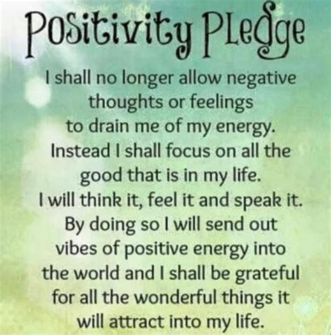 Positivity Pledge Pictures, Photos, and Images for