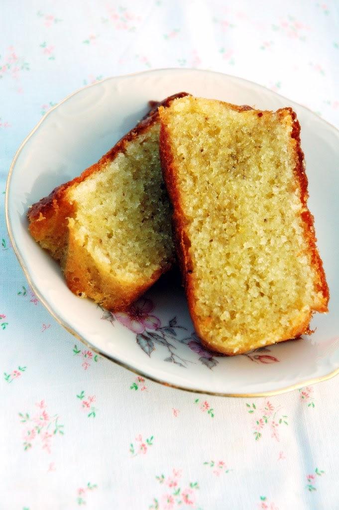 Cake limone pistacchio