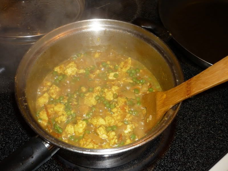 Mutter Paneer March 2012