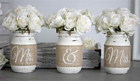 Homemade Country Wedding Decorations   BreakPR