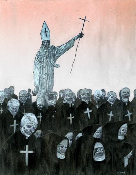 antitheism, atheism, goth, gothic, horror