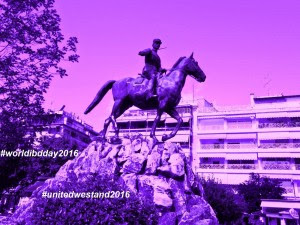 Nikolaos Plastiras Statue of Karditsa