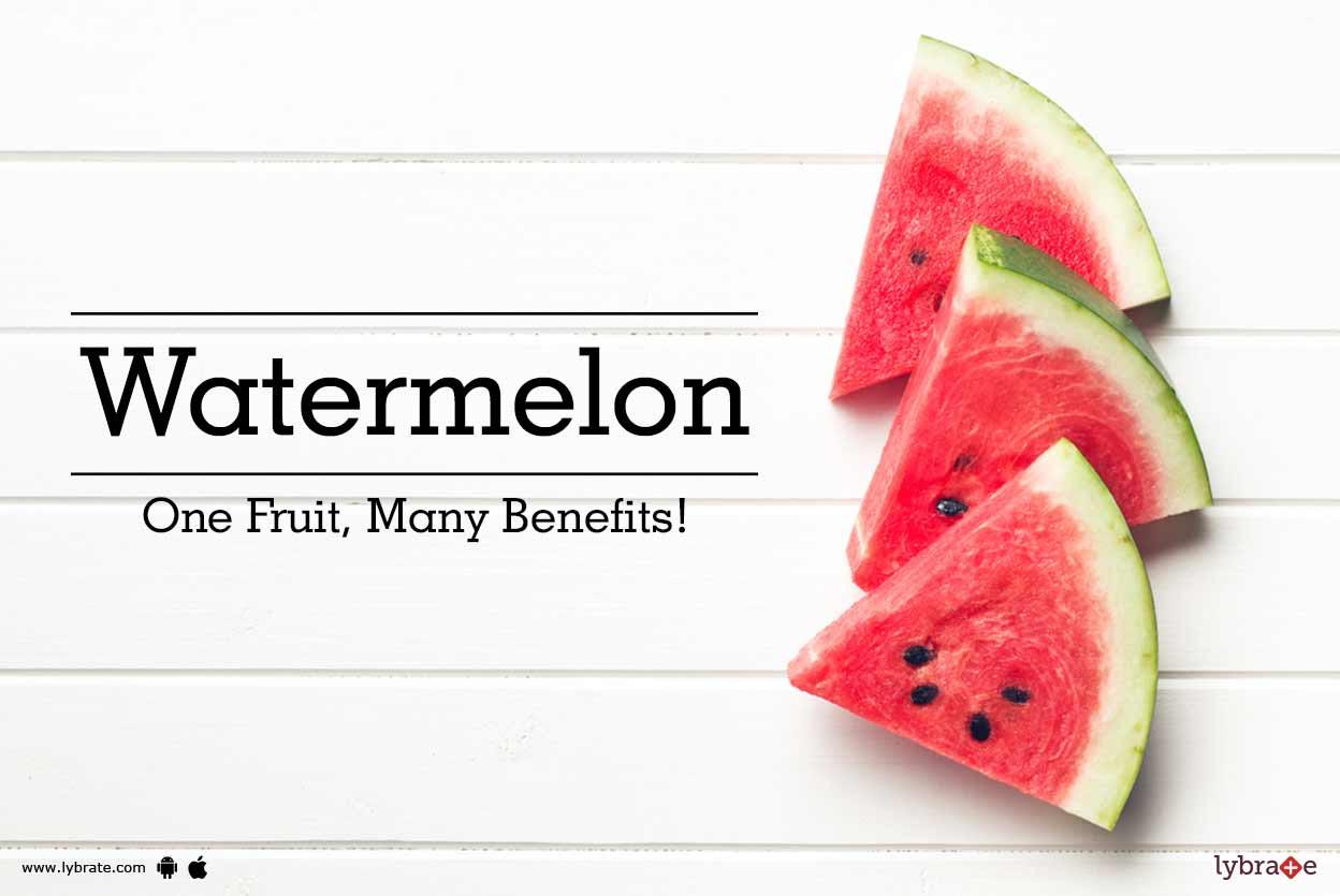Watermelon - 7 Amazing health benefits of it!