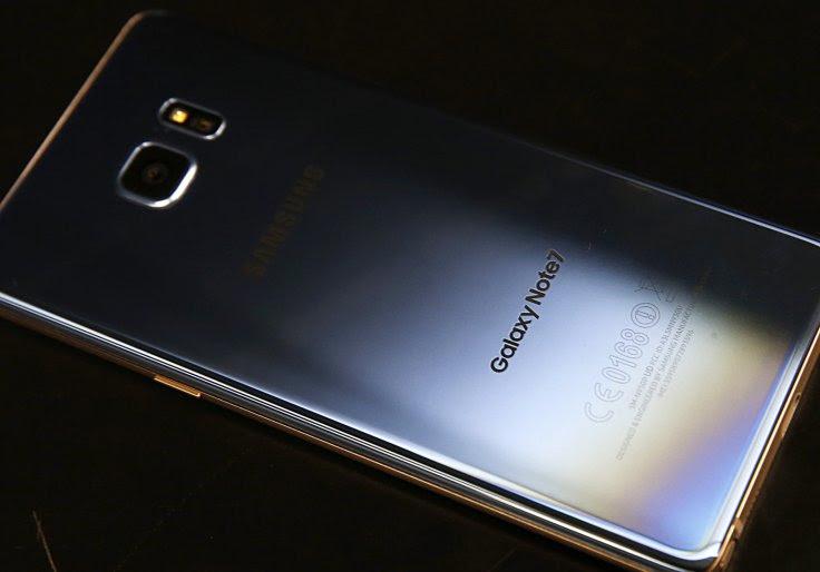 điện thoại note 7 của samsung bị nổ