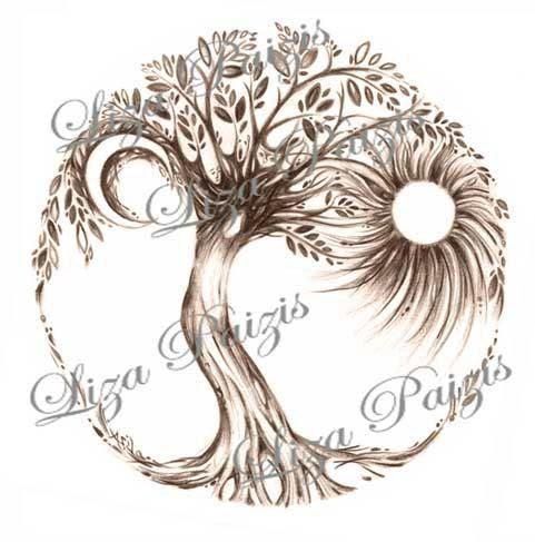 Tattoo Trends Tree Of Life Dna Tattoo Google Search