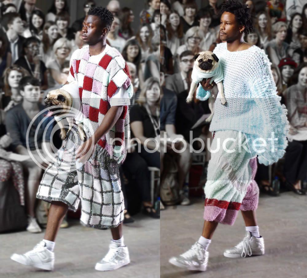 Natalia Mencej (Fashion Knitwear) CSM BA Press Show