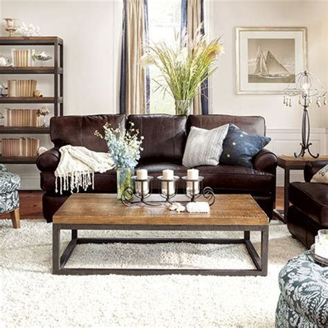 Brown Leather Couch Living Room, Living Room Decor Ideas With Brown Leather Couches