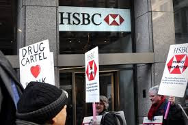 Before becoming he director of the FBI, Director Comey, work at the criminal bank of HSBC which laundered drug cartel and terrorist drug money.