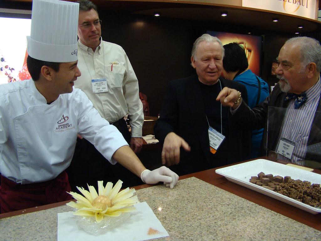 Callebaut Chocolate with Narsai David and Joseph Schmidt