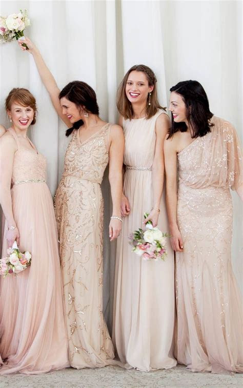 1000  ideas about Blush Bridesmaid Dresses on Pinterest
