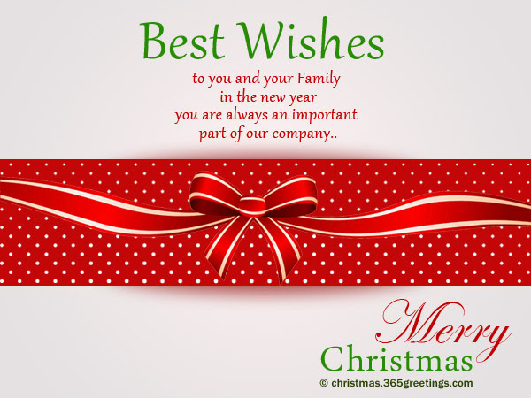 Christmas greetings from staff natal 6 christmas messages for employees christmas celebrations m4hsunfo