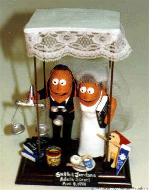 Wedding Cake Topper Made to order for Jewish Lawyer