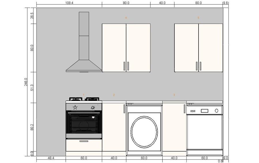 Casas cocinas mueble presupuesto cocina ikea - Presupuesto cocina nueva ...