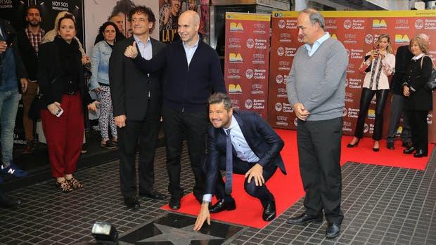 Marcelo Tinelli descubrió su estrella en la avenida Corrientes