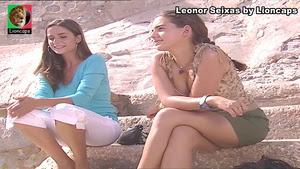 Leonor Seixas sensual nas novelas Saber Amar e Quer o Destino