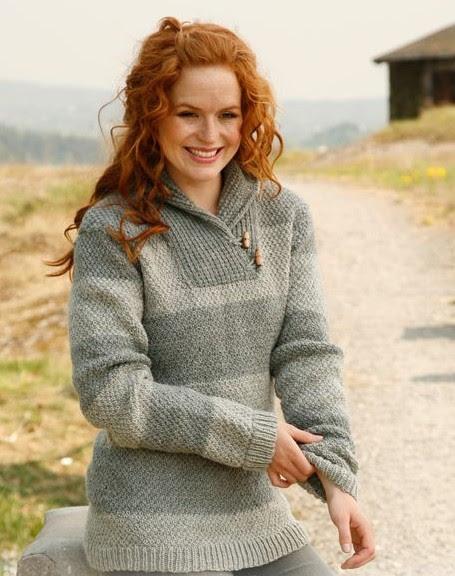 Anna Sweater Free Knitting Pattern