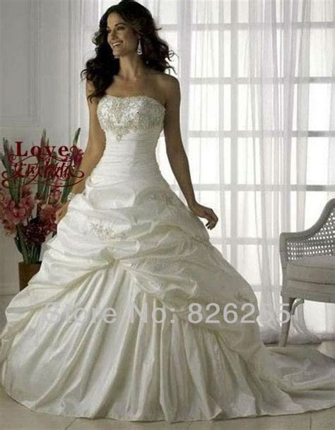 In Stock Free Shipping Cheap White/Ivory Princess Elegant