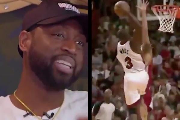 7b346807f6b Dwyane Wade Reveals What He Said to Michael Jordan After Posterizing  Anderson Varejao