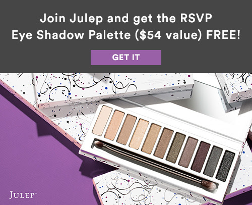 Free Eyeshadow Palette when you join Julep Beauty