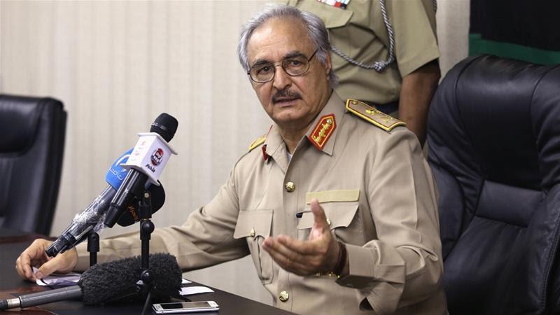 Risultati immagini per libia haftar