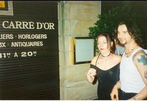 Dave with nineties wife Teresa Conroy   SOFAD/Ultra era