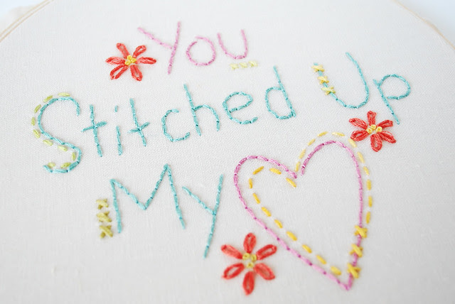 You Stitched Up My Heart