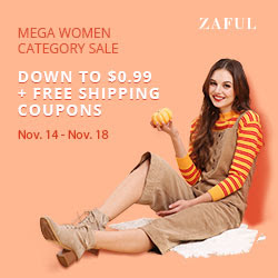 ZAFUL Mega Women Category Sale