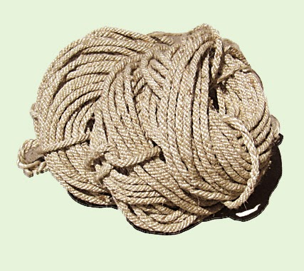Quality Bamboo And Asian Thatch Jute Rope Braided Jute